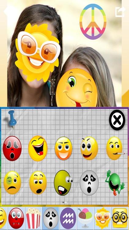 Emoji Photo Stickers & Paint