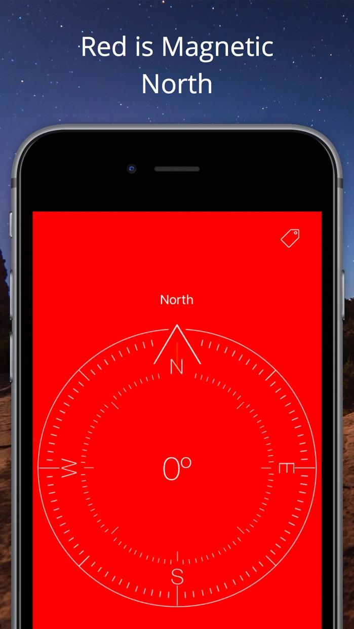 Compass Heading- Magnetic Digital Direction Finder Screenshot