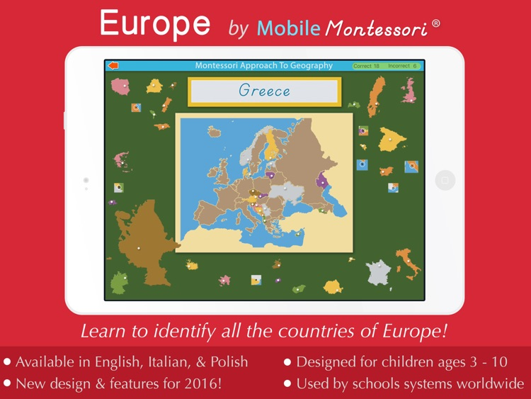 Europe - A Montessori Approach To Geography
