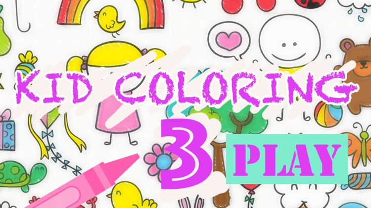 Kid Coloring 3 - Painting for kids free game