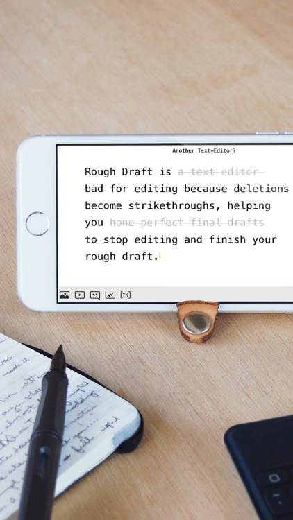Rough Draft: Stop Editing and Just Write