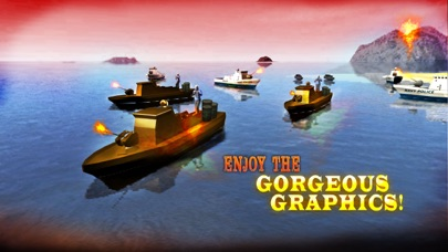 海軍警察ボートの攻撃 - レアル陸軍船舶セーリングとチェイスシミュレータゲームのおすすめ画像4