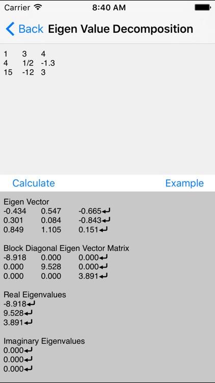 Matrix Calculators - Linear Algebra Toolkit