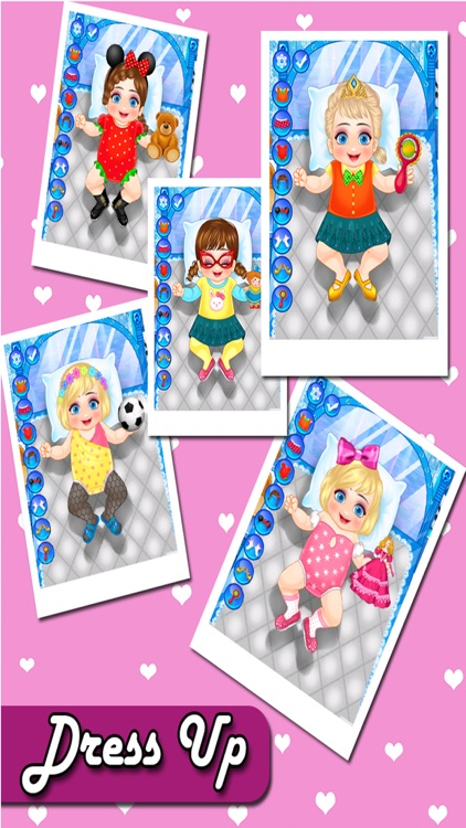 New Born Baby Care & Dress Up screenshot-3