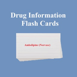 Drug Information Flash Cards for iPhone
