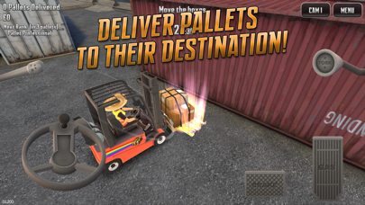 Screenshot from Extreme Forklifting 2