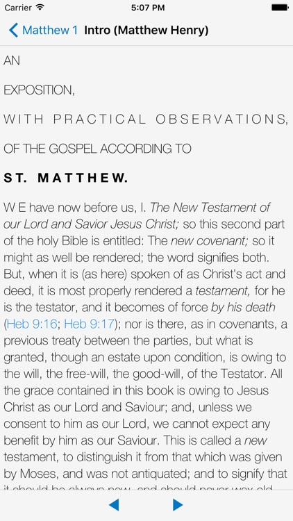 KJV Matthew Henry & Strong's screenshot-0