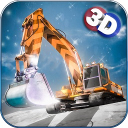 Snow Excavator 3D : Winter Mountain Rescue Operation with Snow Plow & Dumper Truck Simulation