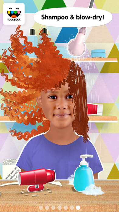 Toca Hair Salon Me review screenshots