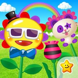 Make amazing flowers!!Florist play for children