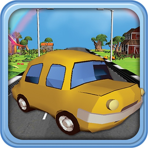 Extreme Toon Race : Craziest Car Driver Game