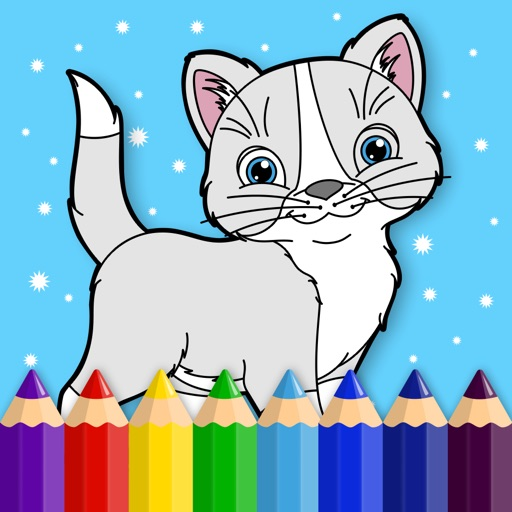 Kitty - Coloring Book for Little Boys, Little Girls and Kids