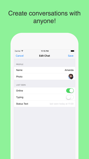 WhatsPrank - Create Fake Conversations for WhatsApp on the
