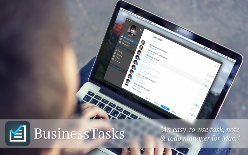 BusinessTasks Screenshot