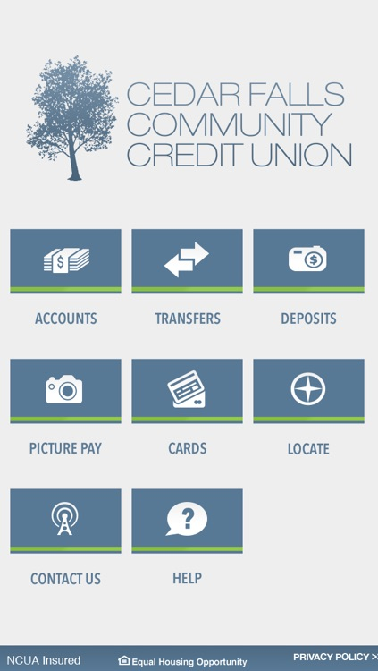 Cedar Falls Community Credit Union Mobile App