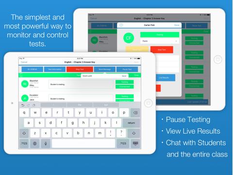 SmartTest Pro Teacher Edition screenshot 2