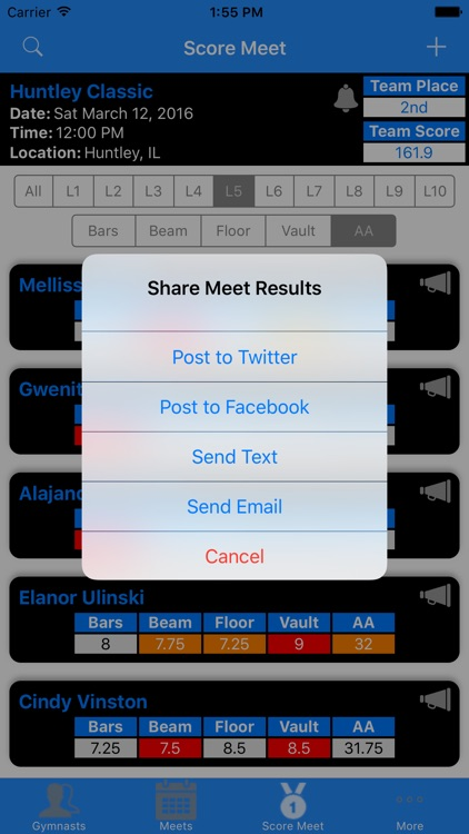 MeetScore screenshot-4