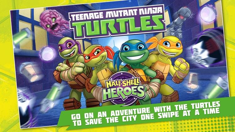 Teenage Mutant Ninja Turtles: Half-Shell Heroes screenshot-0