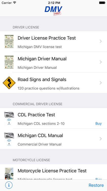 Michigan DMV Test Prep