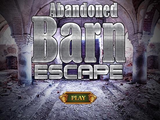 Escape Games Abandoned Barn-ipad-0
