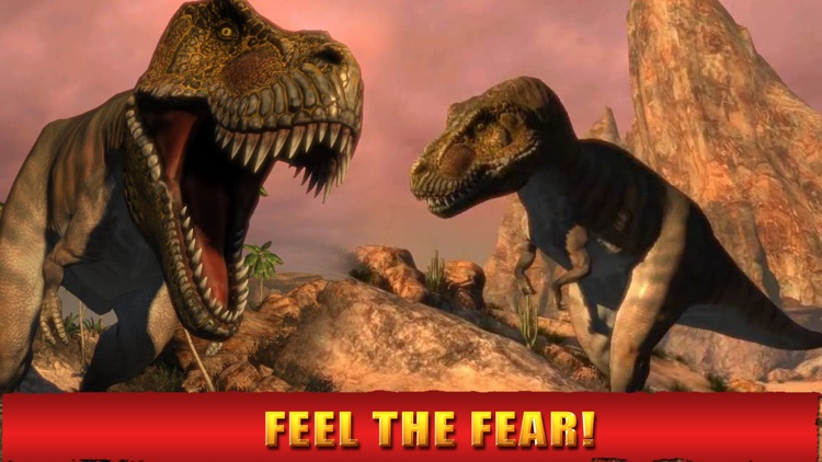 2016 Dinosaur Hunting Park 3D : Reload Dino World Safari Hunt Season Games screenshot-3