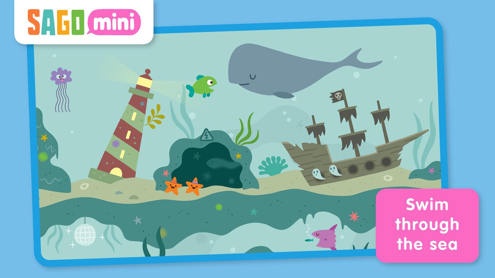Sago Mini Ocean Swimmer TV screenshot 4