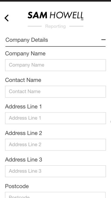 Sam Howell Service App screenshot-3