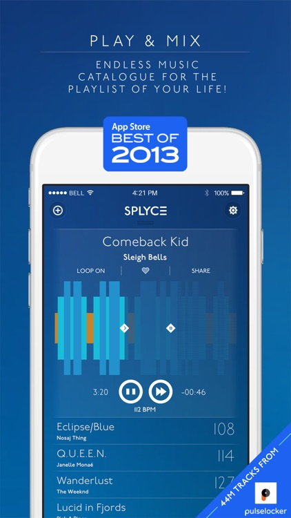 Splyce Premium - music player & dj mixer screenshot-0