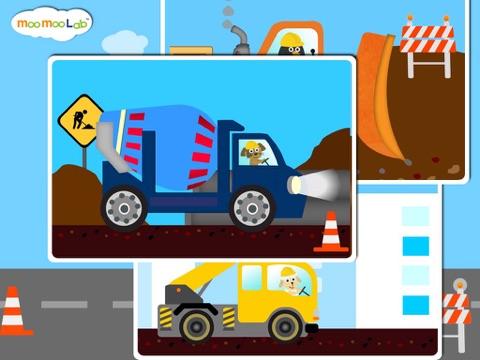 建設車両 -  子供のためのゲーム, アクティビティ、お絵かきのおすすめ画像4