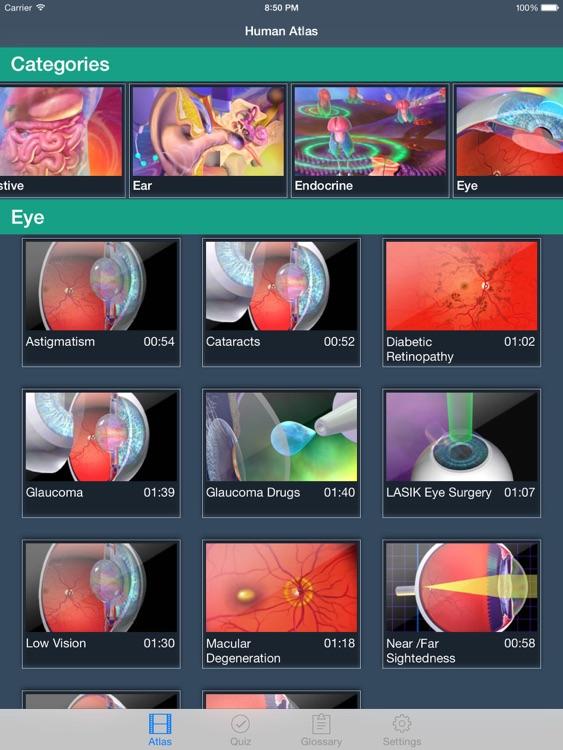 Animated Physiology Human Atlas screenshot-3
