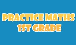 Practice Maths 1st Grade