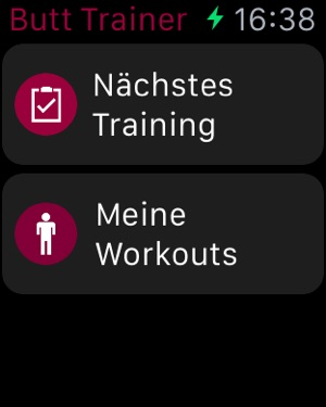 Runtastic Butt Trainer Workout Screenshot