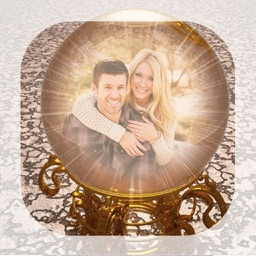 Crystal Ball Photo Frames - Make awesome photo using beautiful photo frames