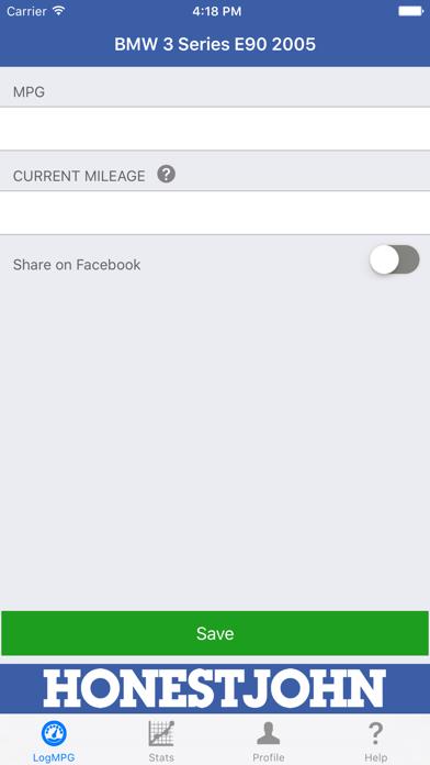 Real MPG screenshot three