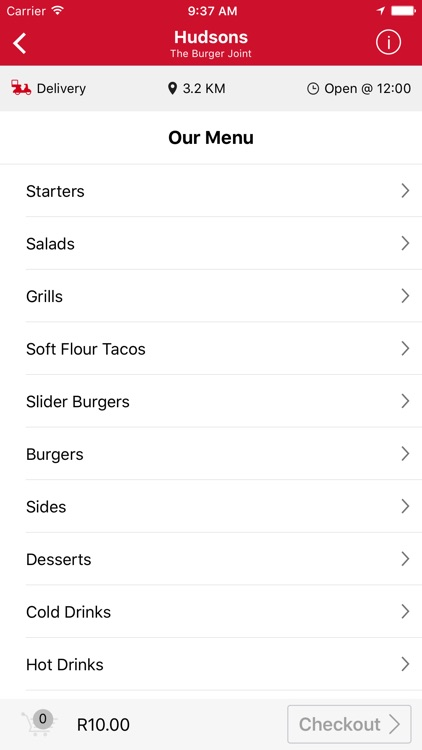 OrderIn - Food Delivery App