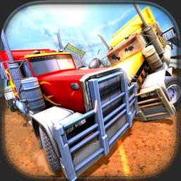 18 Wheeler Truck Crash Derby