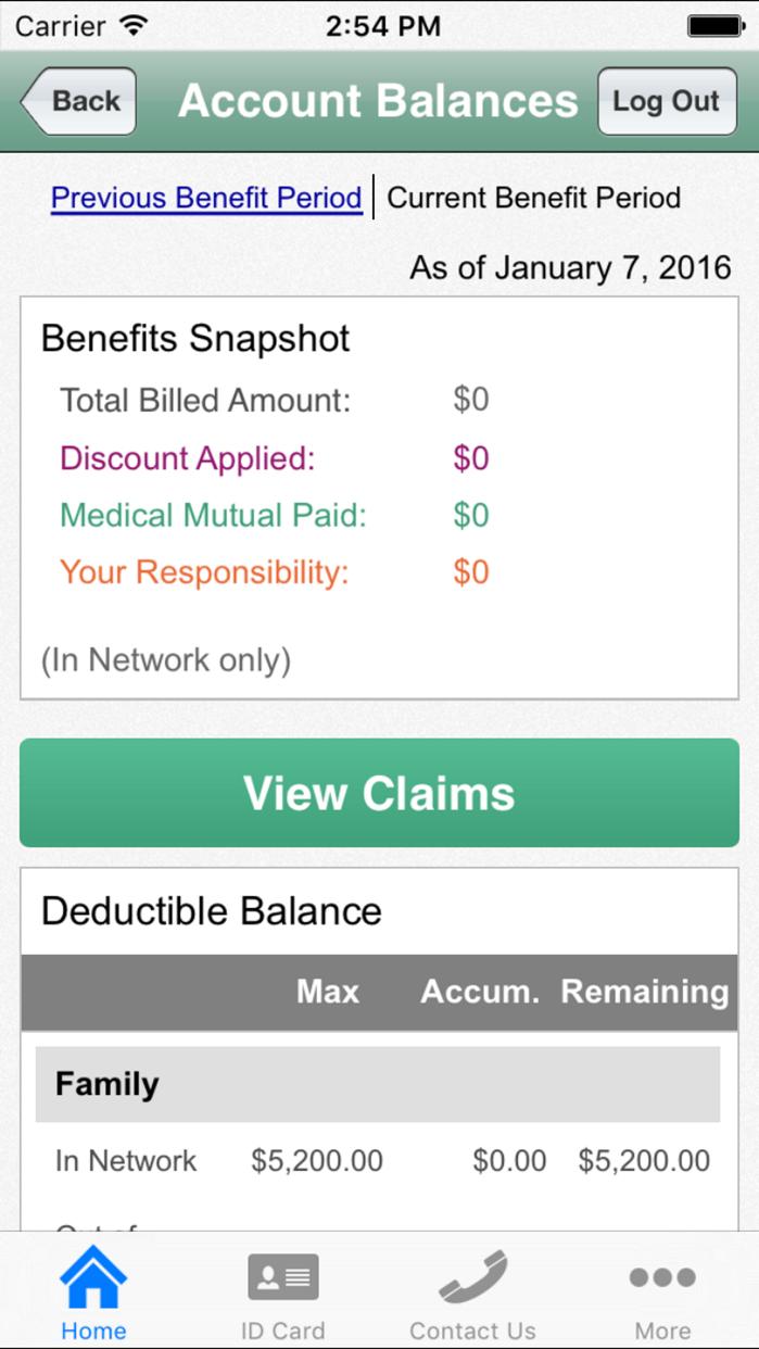 MedMutual Screenshot