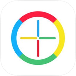 Circle Line - color wheel & match the line to the circle color