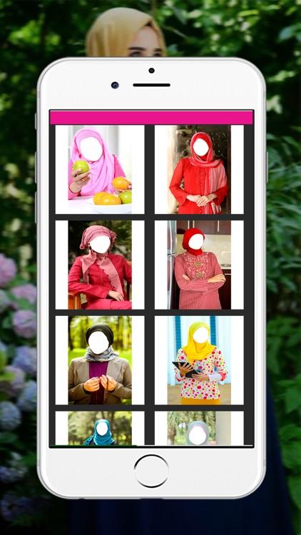 Hijab Woman Photo Montage _ Muslim Woman Wedding Dress Up