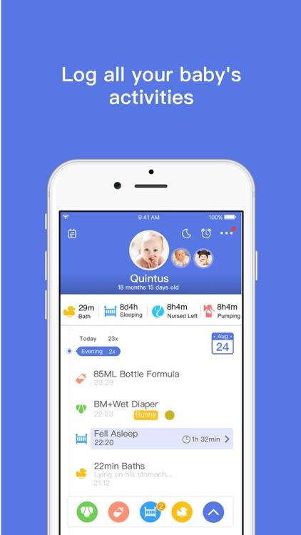 Total Baby  - Breastfeeding, Diaper, Sleep, Growth Tracker & Baby Journal screenshot-0