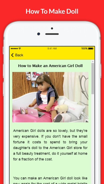 How To Make Doll - Doll Making Tutorials and Tips screenshot-3