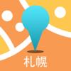 札幌中文离线地图-日本离线旅游地图支持步行自行车模式