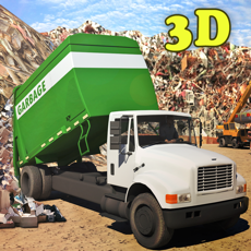 Activities of City Garbage truck Driver 3d simulator