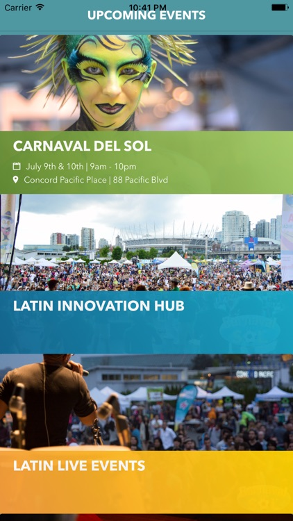 Latincouver Mobile App