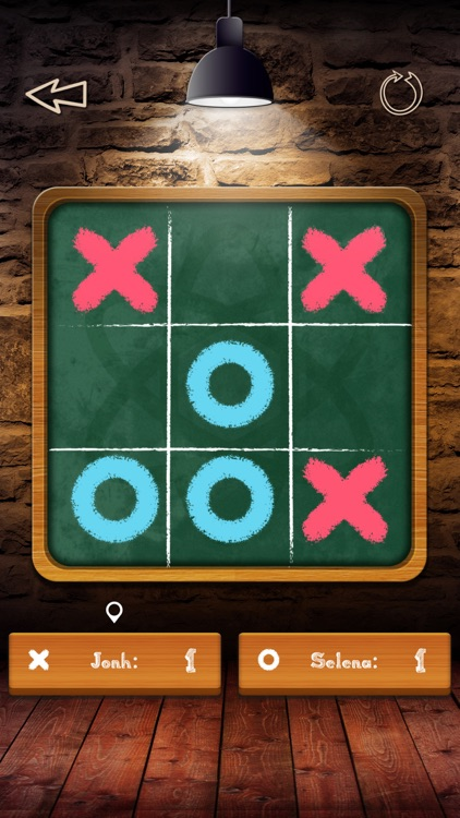 Tic Tac Toe Pro - Glow Multiplayer Online 2 Player Free with friend ( 3 in a row )