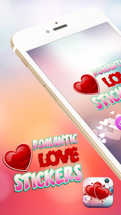 Romantic Love Stickers – Decorate Pics with Cute Frame.s and Sticker Art in Girly Photo-Booth screenshot-0