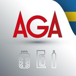 MyAGA Beställningsapp - Sverige