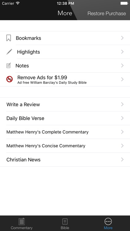 KJV Study Bible - with William Barclay Commentary screenshot-4