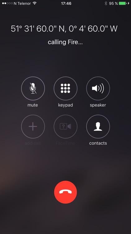 Emergency Call Anywhere