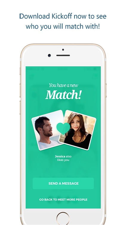 Kickoff – Meet people your friends know screenshot-3
